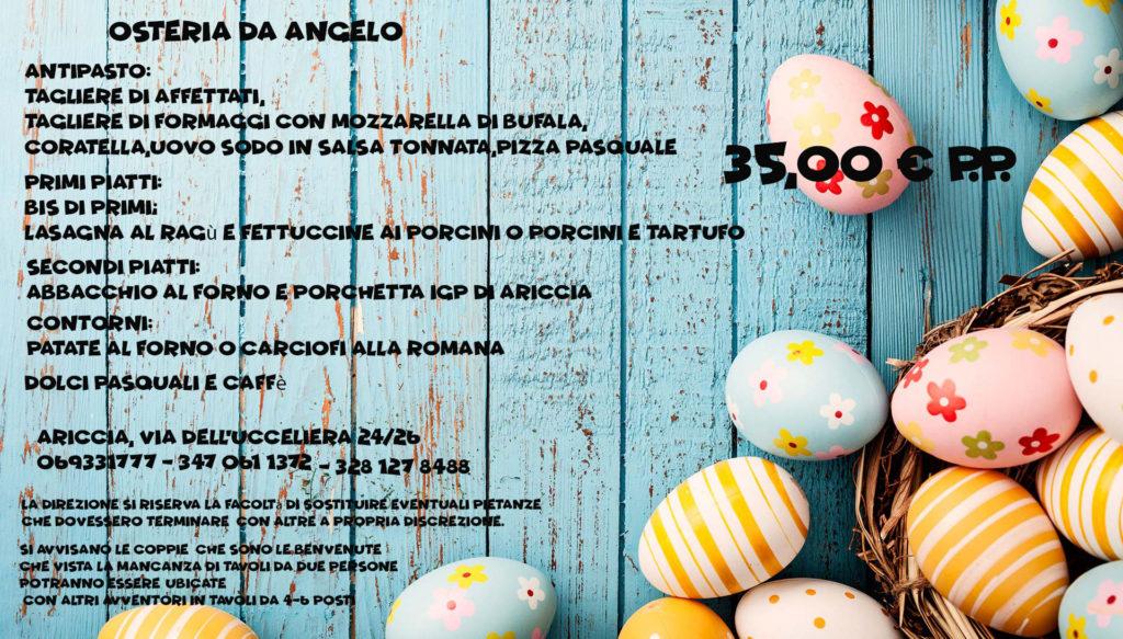 pasqua 2018 in fraschetta - Ariccia