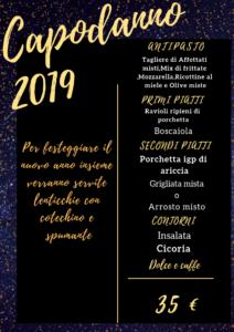 capodanno 2019 - natale e capodanno in fraschetta