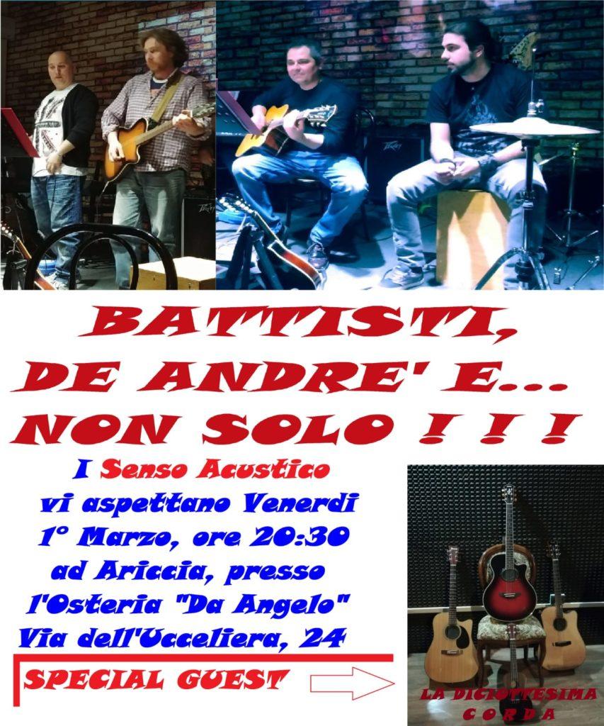 Battisti De Andrè e... non solo!!